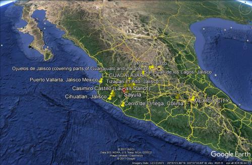 Tia Project Sites