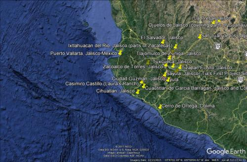 Western Project Sites